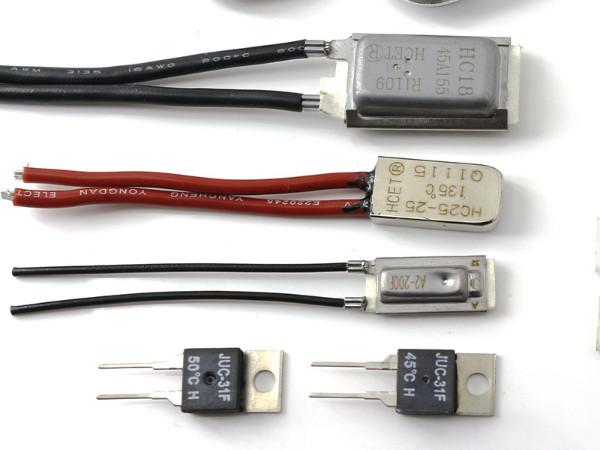 电机绕组过热保护的简单方法
