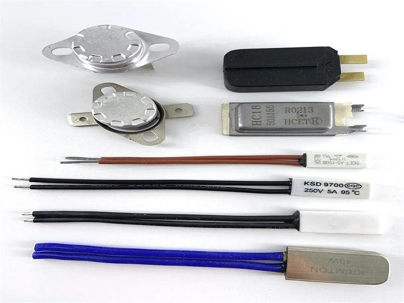 微型电机热保护器安装