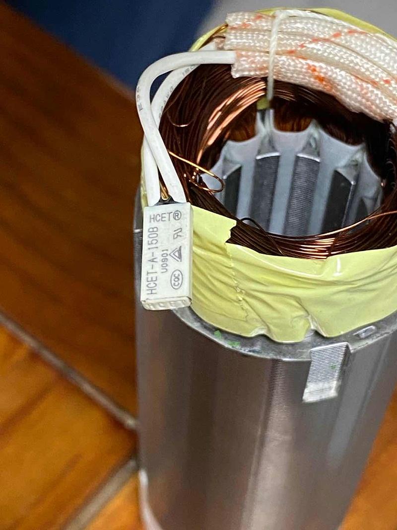 管状电机温度开关